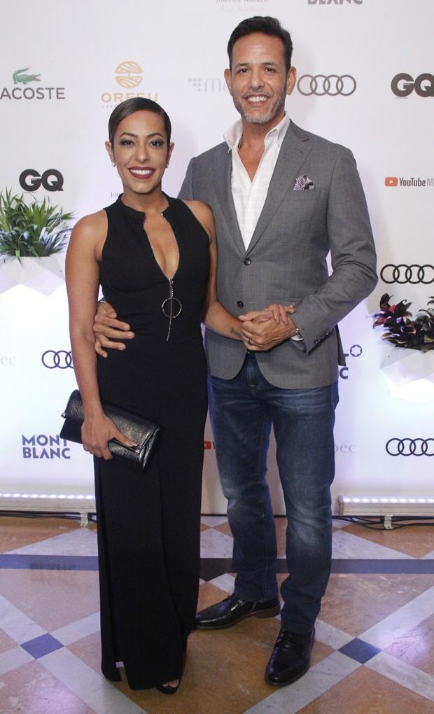 Samantha Schmütz e Michael Cannet (Foto: Wallace Barbosa/AgNews)