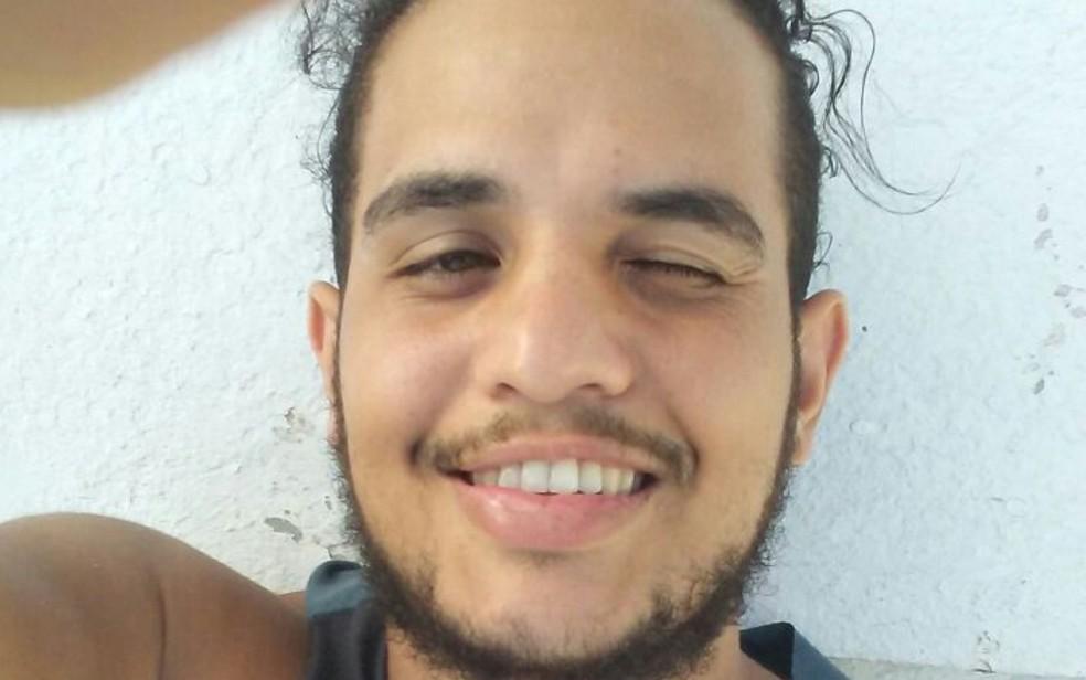 Maykon Eder Alves de Jesus sumiu ao tentar entrar nos Estados Unidos (Foto: Arquivo pessoal/ Wesley Alves de Jesus)