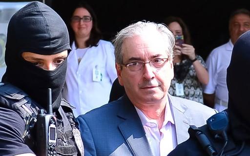 Por espaço na carceragem, PF pede transferência de Eduardo Cunha