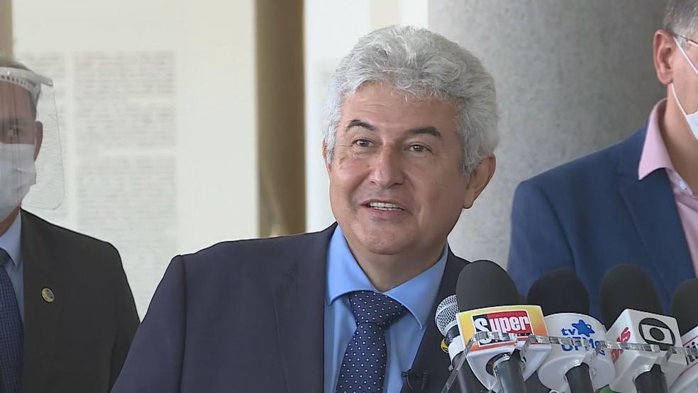 Ministro da Ciência, Tecnologia e Inovação, Marcos Pontes — Foto: Reprodução/TV Globo