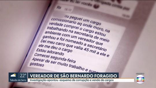 Justiça manda prender vereador de São Bernardo acusado de participar de esquema de corrupção na Prefeitura