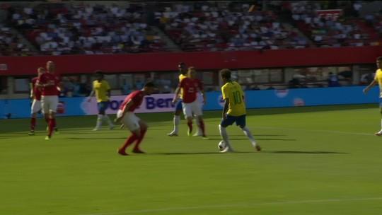 Golaço de Neymar com drible desconcertante lembra cesta de Harden