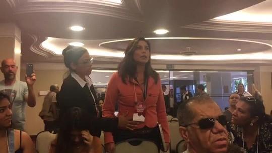 Em meio a tumulto, PMN rejeita  candidatura de Valéria Monteiro
