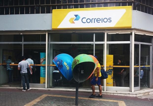 Correios (Foto: Kelsen Fernandes/ Fotos Públicas)