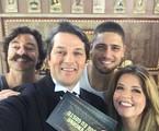 Emilio Orciollo Netto, Marcelo Serrado, Daniel Rocha e Mariana Santos  | Arquivo pessoal