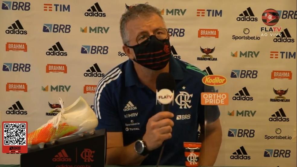 Presente no campo, Jordi Guerrero elogia base do Flamengo em empate: Psicológico não foi problema