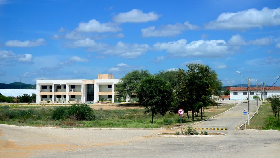 Faculdade de Engenharia, Letras e Ciências Sociais do Seridó (Felcs), da UFRN — Foto: Cícero Oliveira/UFRN