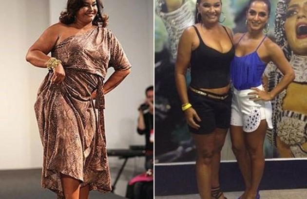 Solange Couto reduziu o estômago em janeiro de 2013 e perdeu mais de 40kg (Foto: Arquivo pessoal)