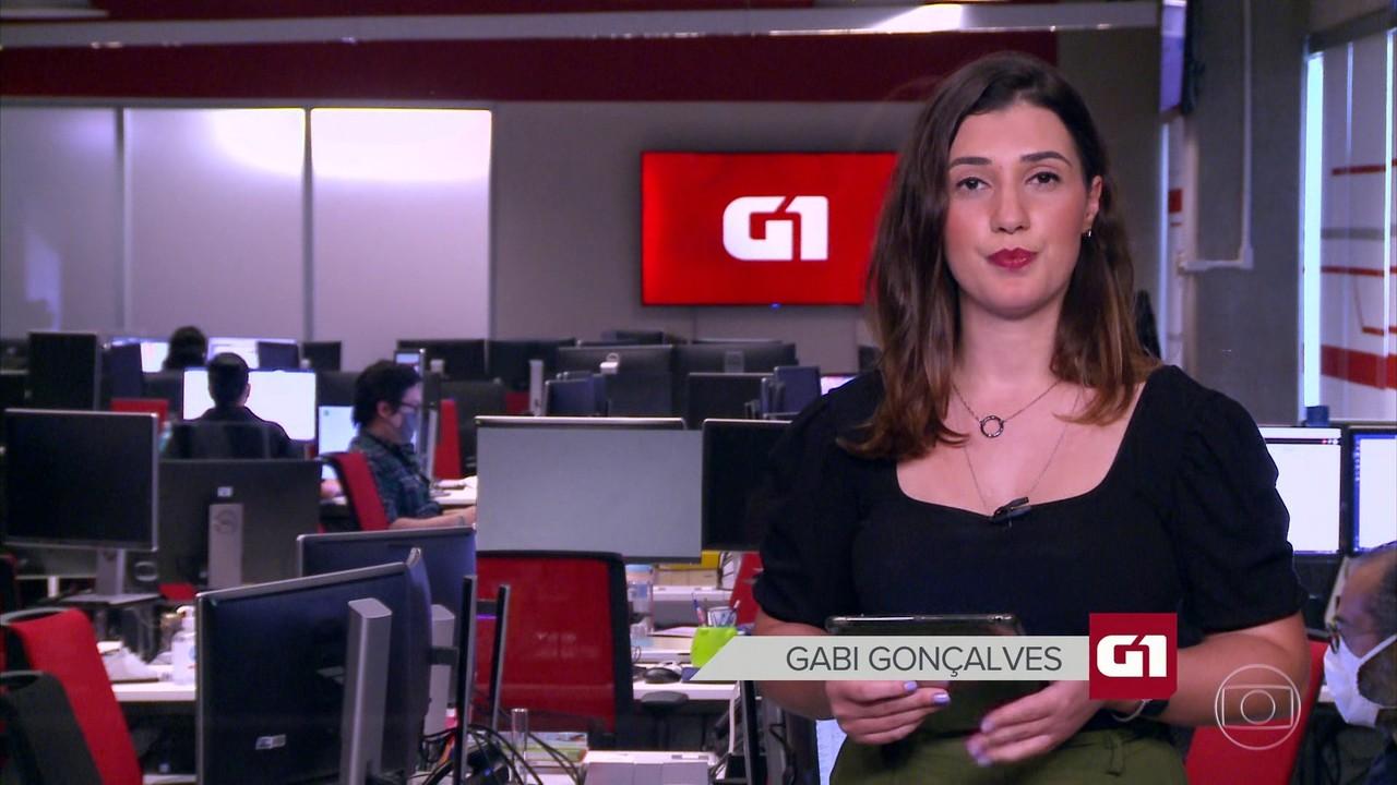 G1 em 1 Minuto: Taxa de transmissão da Covid-19 no Brasil volta a ficar acima de 1