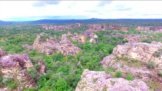 Parque Nacional de Sete Cidades tem vários monumentos naturais no PI