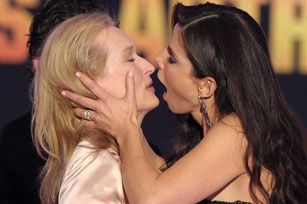 Meryl Sctreep e Sandra Bullock (Foto: Getty Images)