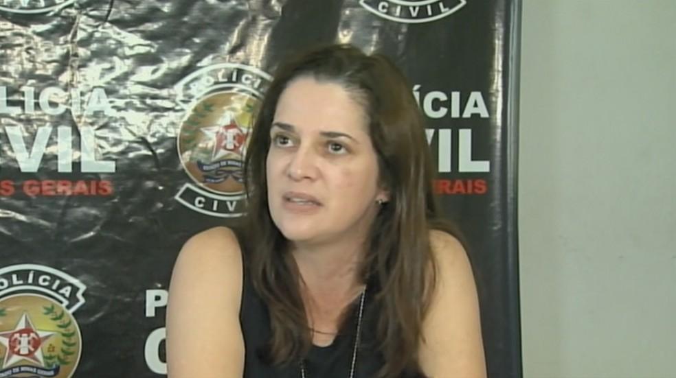 Delegada deu detalhes sobre depoimento da mãe — Foto: Reprodução/EPTV