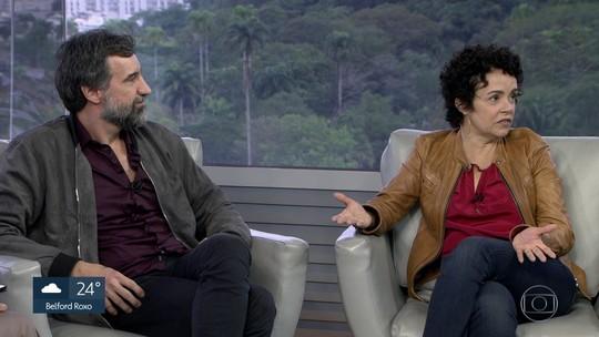 Luciana Braga, Charles Fricks estão no elenco da peça 'Sangue', noTeatro de Arena do SESC Copacabana