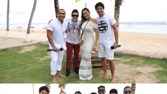 Fim de ano no 'Combinado' tem programa especial e música com Daniel Diau e Rojão Diferente