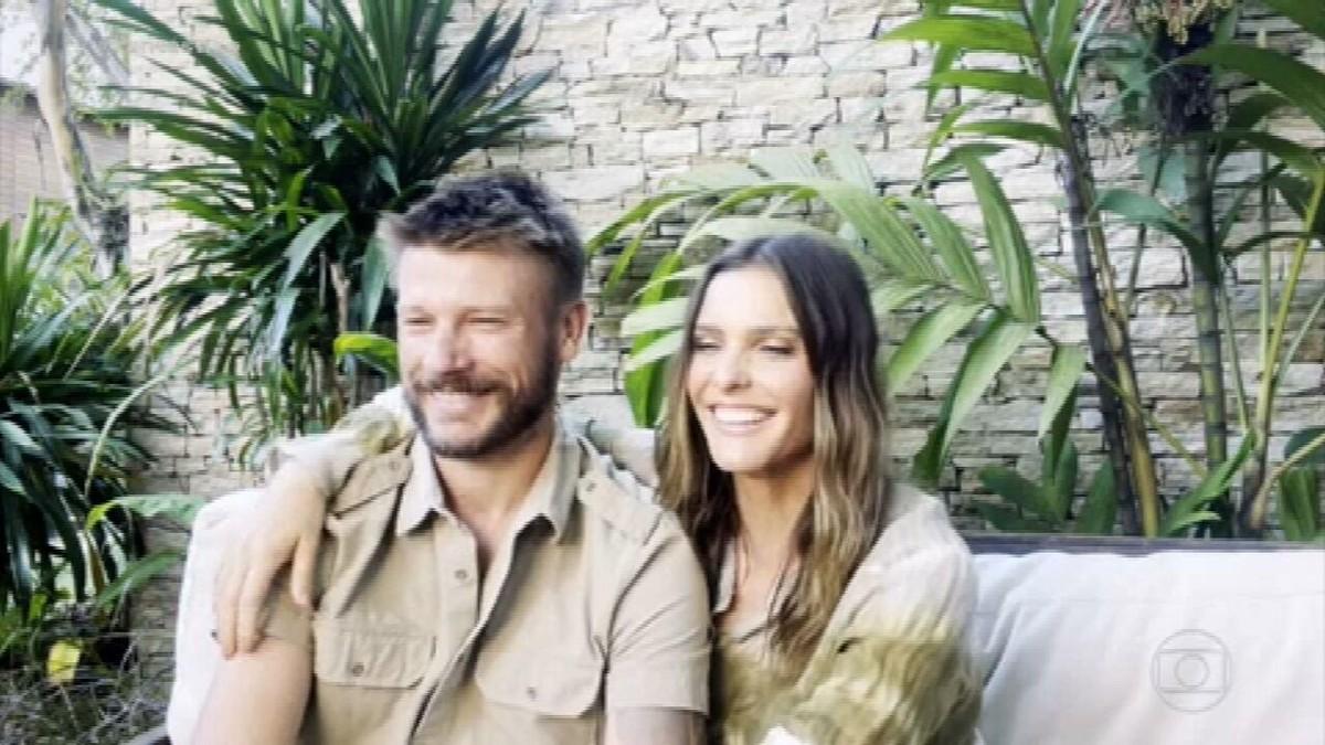 Fernanda Lima e Rodrigo Hilbert falam sobre casamento, filhos e a parceria na TV
