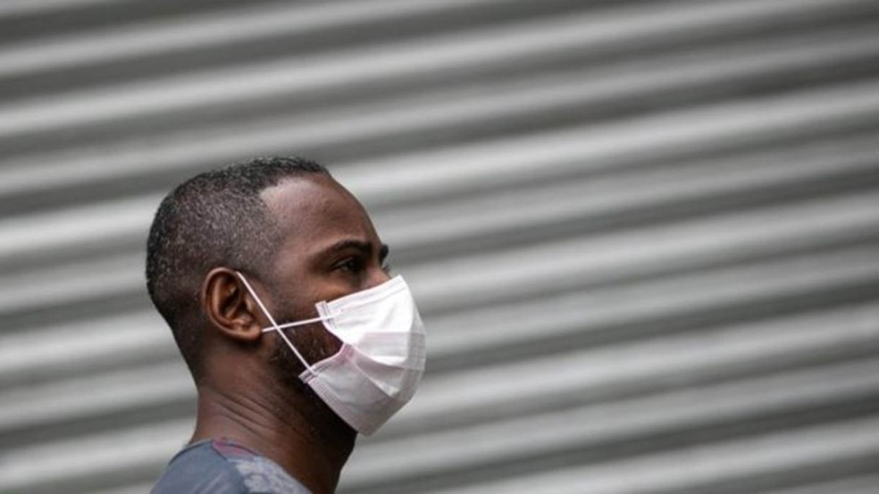 Use máscara — Foto: Getty Images/ BBC