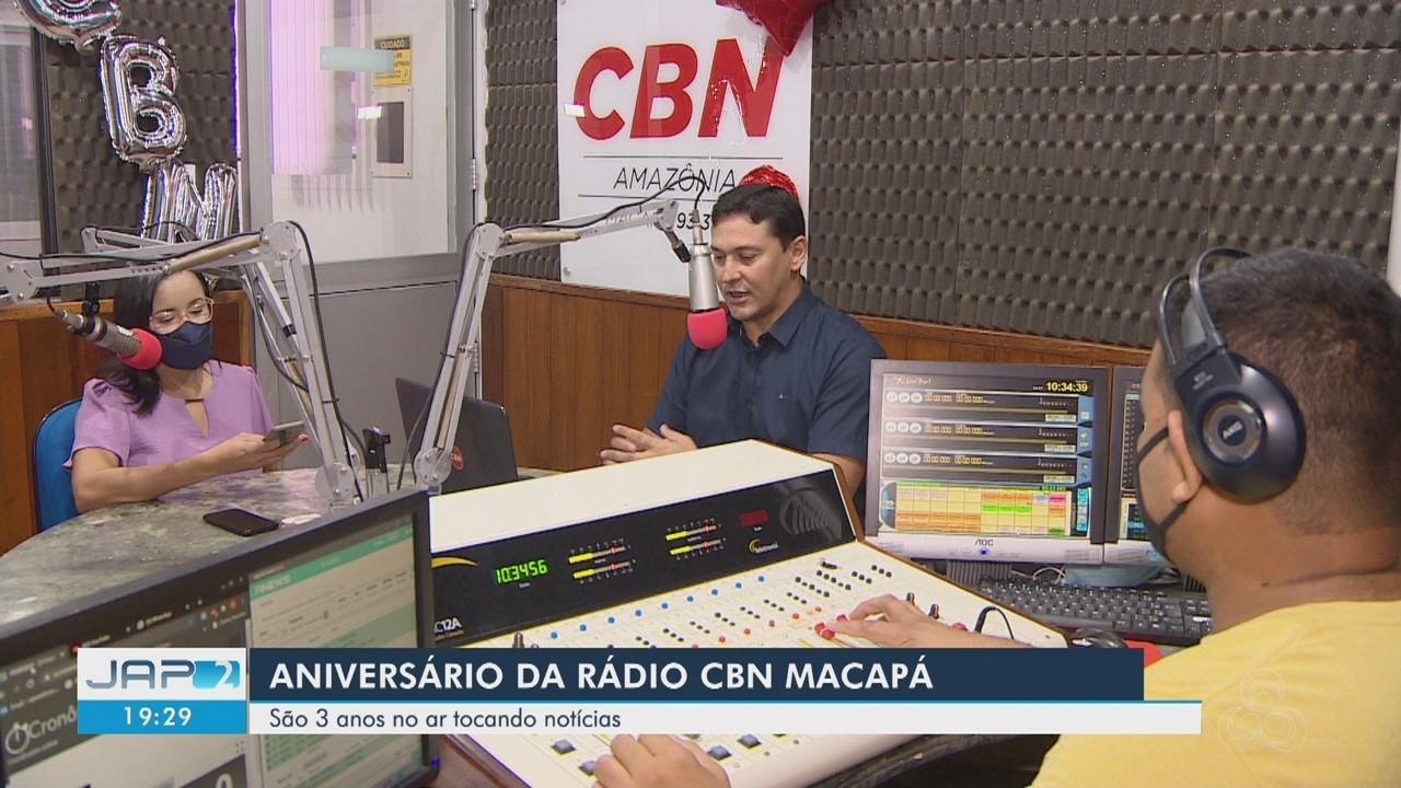 Rádio CBN Macapá completa 3 anos tocando notícias e se aproximando dos ouvintes