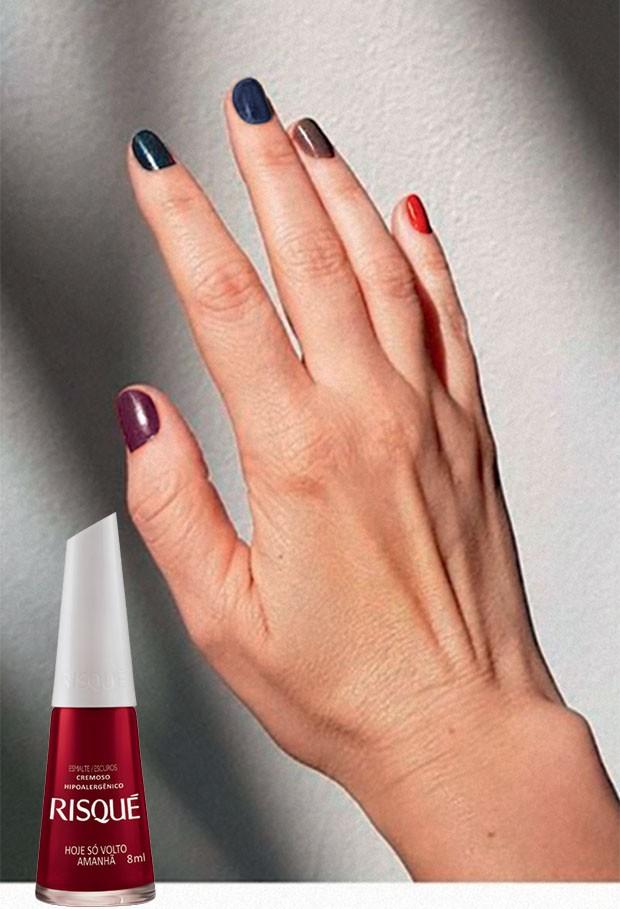 Beauty News -  Risqué lança a coleção Novos Escuros com cinco cores sóbrias  (R$ 3,90 cada) (Foto: Divulgação)
