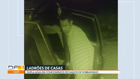 Ladrões de casas são presos em Sobradinho