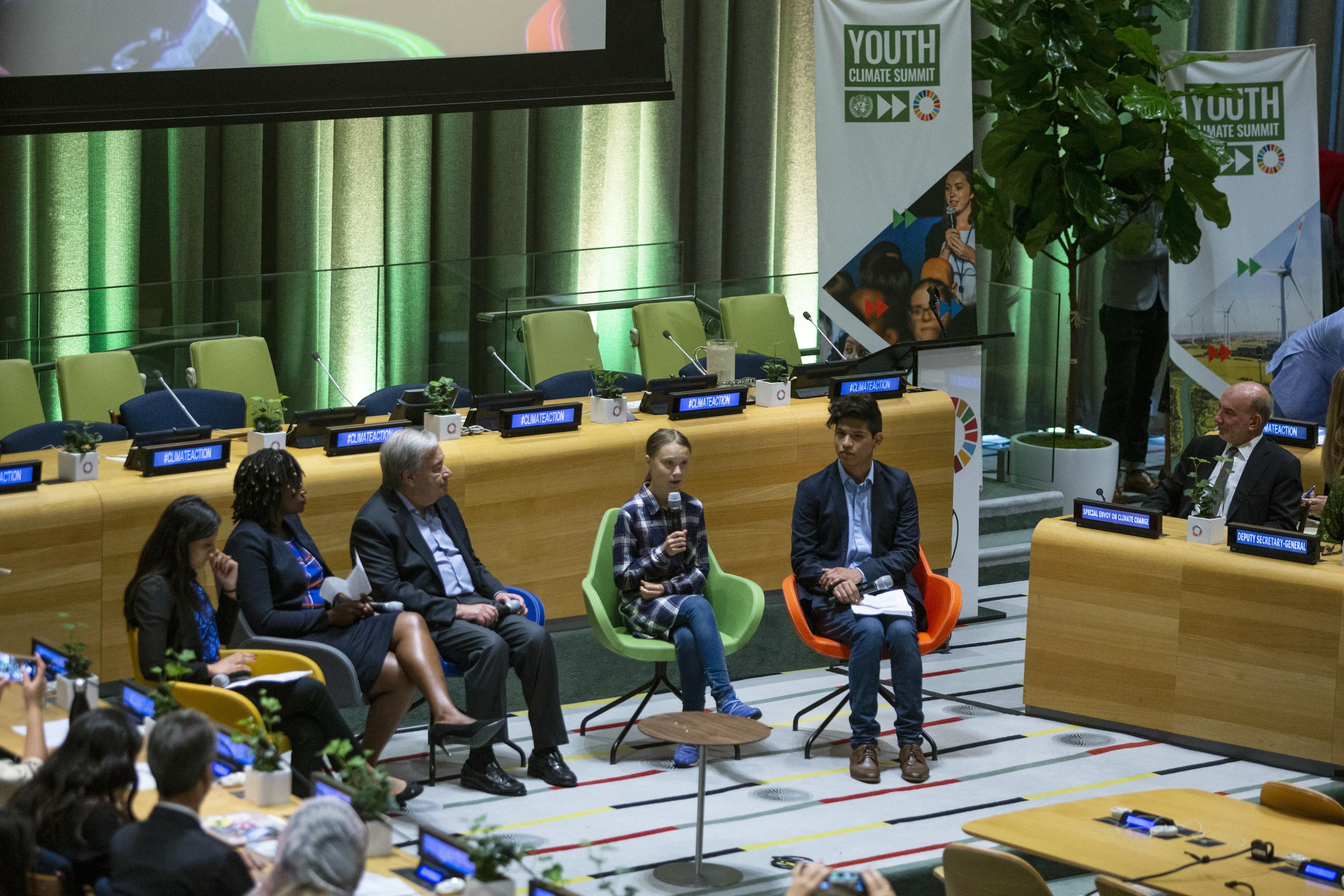Cúpula do Clima da ONU começa com discussão sobre papel dos jovens no futuro do planeta - Notícias - Plantão Diário