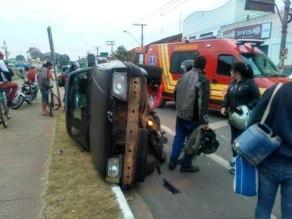 Mulher morreu em acidente em Porto Ferreira (Foto: Divulgação)