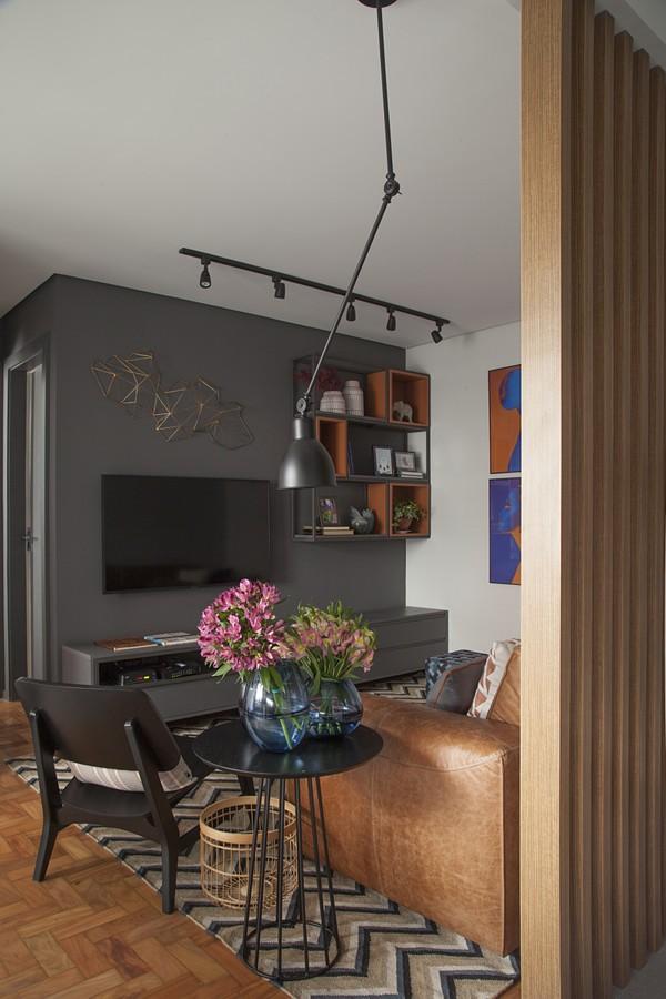 Cinza e´a cor de base do décor