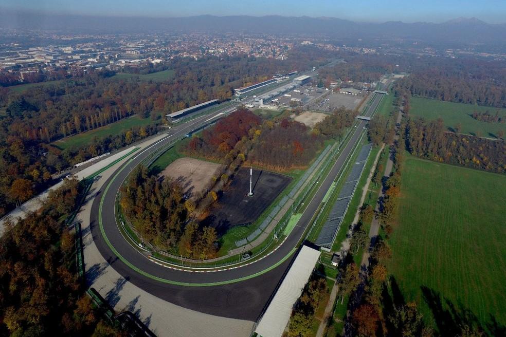 Autodromo Nazionale di Monza — Foto: Divulgação