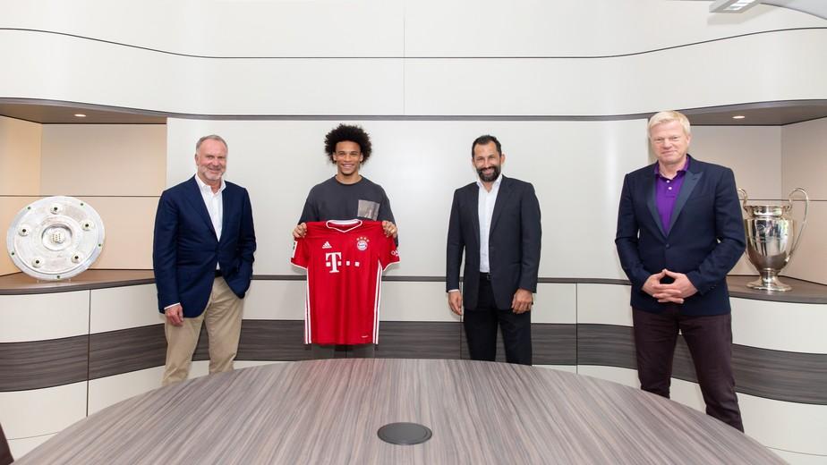 Insaciável, Bayern de Munique anuncia a contratação de Sané