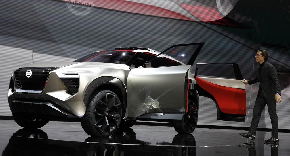 Nissan X motion tem portas que abrem diferente (Foto: Brendan McDermid/Reuters)
