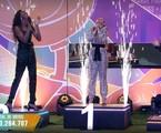 Camilla, Juliette e Fiuk na final do 'BBB' 21 | Globo