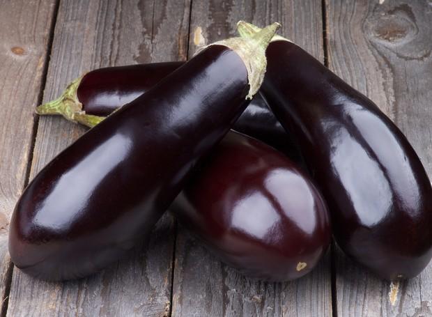 A berinjela é um legume que melhora a circulação sanguínea e preveni anemia (Foto: Thinkstock)