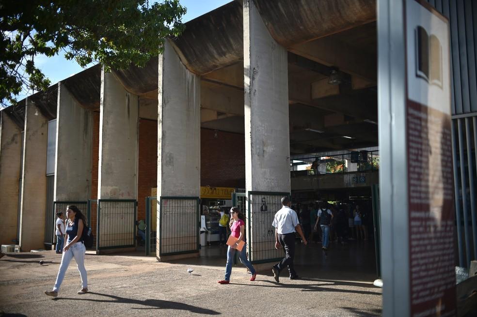 Instituto Central de Ciências (ICC), da Universidade de Brasília (UnB) (Foto: Andre Borges/Agência Brasília)