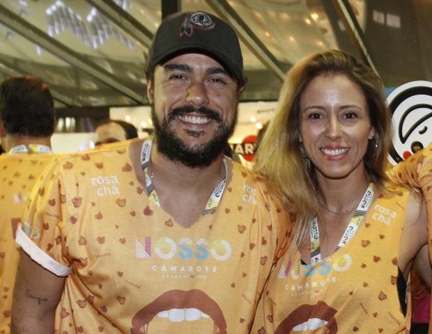 Joaquim Lopes e  Renata de Sá Freire (Foto: BRAZIL NEWS/RT FOTOGRAFIA /CS EVENTOS DIVULGAÇÃO)