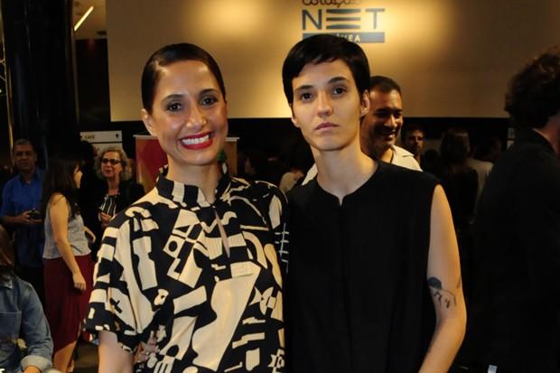 Camila Pitanga e Beatriz Coelho (Foto: Webert Belicio/AgNews)