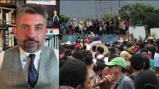 Venezuelanos ultrapassam barreiras e atravessam fronteira com a Colômbia