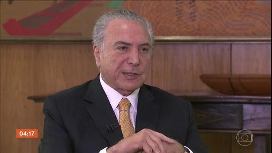 Ministério Público acusa Michel Temer de chefiar organização criminosa