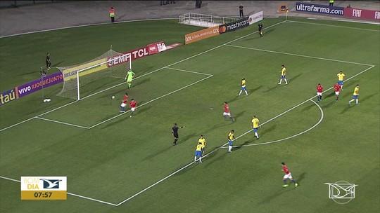 Brasil vence Chile em amistoso da categoria sub-23