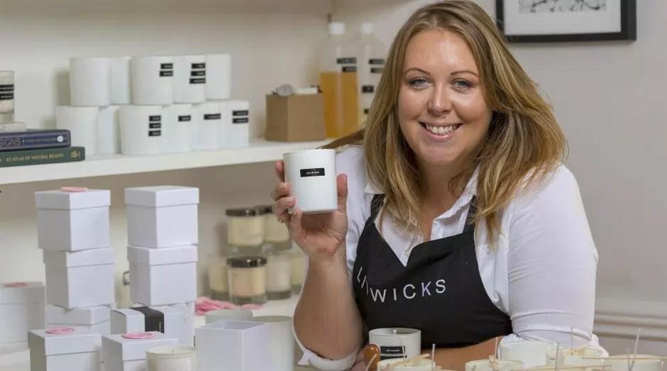 A empreendedora Rebecca Cope (Foto: Divulgação )