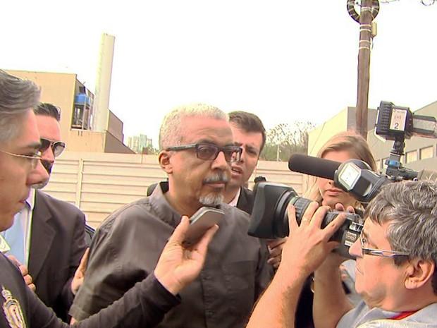 Ex-superintendente do Daerp Marco Antônio dos Santos foi preso na Operação Sevandija (Foto: Reprodução/EPTV)