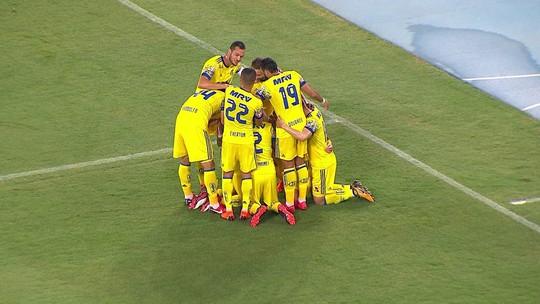 Veja como foi a goleada do Flamengo sobre o Madureira