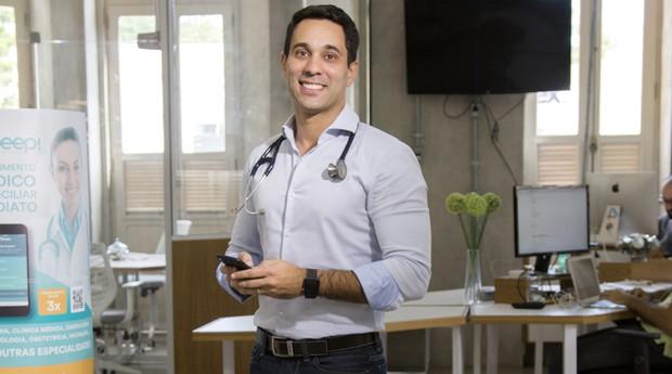 Vander Corteze, do Beep Saúde: 2000 médicos e 600 laboratórios cadastrados no país (Foto: Caio Palazzo)