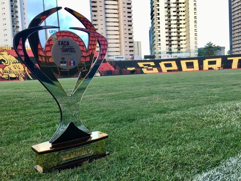 Desafio entre Sport e CSA tem uma taça especial — Foto: Divulgação / Sport