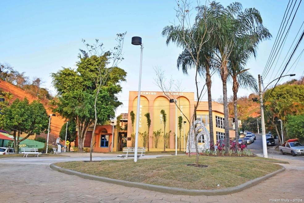 Praça Manoel Congo, Paty do Alferes — Foto: Divulgação/PMPA