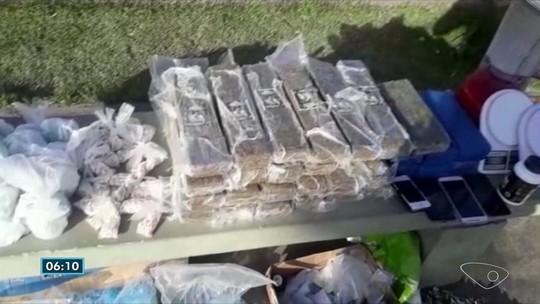 Suspeitos de tráfico dispensam drogas pela janela de carro antes de prisão no ES