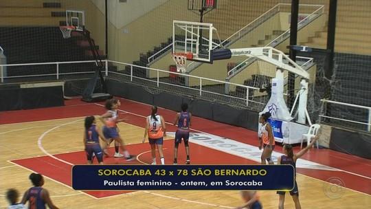 São Bernardo dá o troco e vence o Sorocaba pelo Paulista feminino