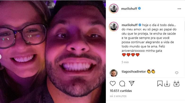 Murilo Huff se declara para Marília Mendonça (Foto: Reprodução/Instagram)