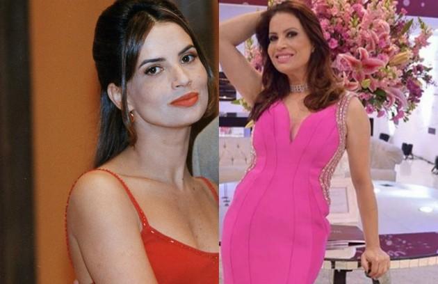 A Isadora Ribeiro coube o papel de Vilma, mulher de Henrique (Edson Celulari). Longe da TV desde 'Amor & revolução', do SBT, ela recentemente esteve em cartaz com a peça 'Diário de bordo' (Foto: TV Globo / Reprodução )