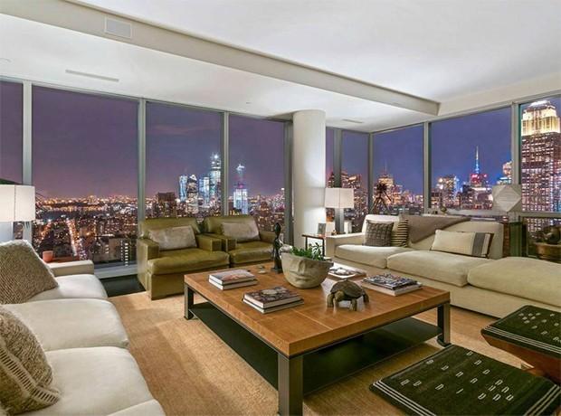A vista de Nova York é um dos maiores atrativos - apartamento Gisele Bündchen  (Foto: Sotheby's International Realty)