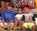 Irmãos Simas com Xuxa no 'Planeta Xuxa' | Reprodução