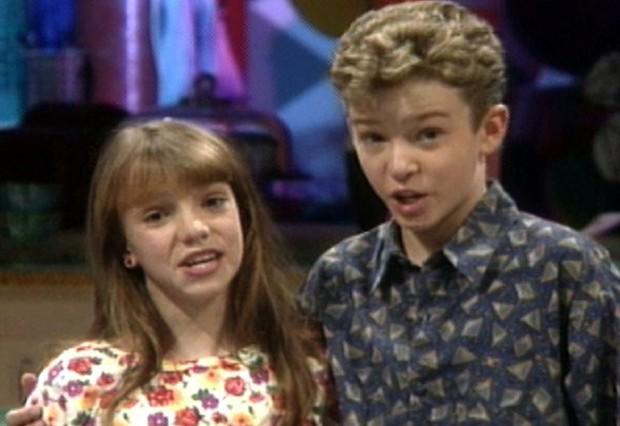 O ex-casal Britney Spears e Justin Timberlake (Foto: Reprodução )